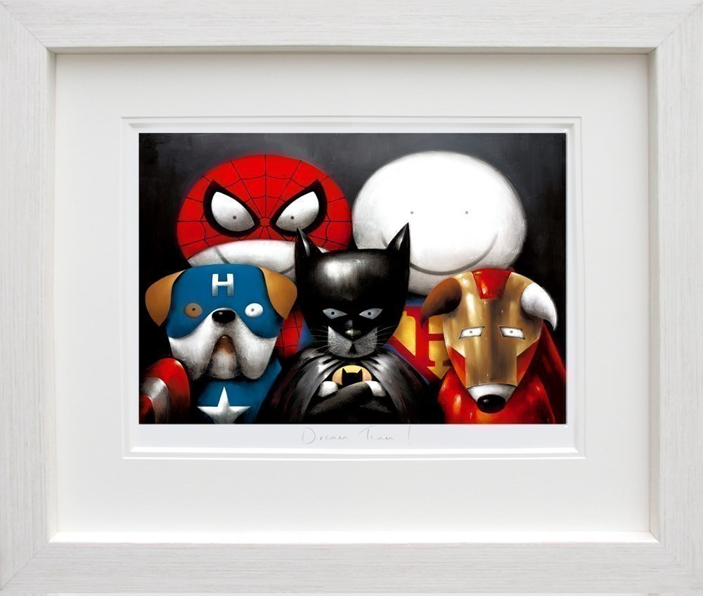 Dream Team! by Doug Hyde - Limited Edition on Paper sized 22x15 inches. Available from Whitewall Galleries
